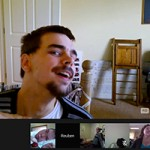 The BCTAC community extends beyond the Bay Area and California. Members meet online via video chat.